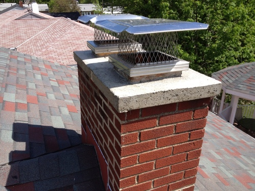 Chimney rebuild with crown forms final