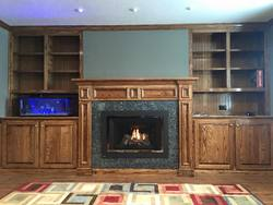 Mantle and Fireplace Design