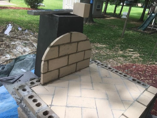 Pizza oven floor and arch